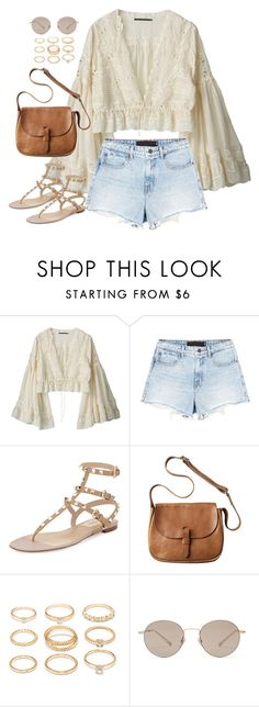 """Untitled#4574"" by fashionnfacts ❤ liked on Polyvore featuring Aula Aila, Alexander Wang, Valentino, Toast, Forever 21 and Gucci"