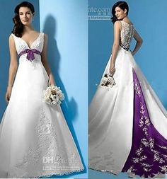 I found some amazing stuff, open it to learn more! Don't wait:http://m.dhgate.com/product/best-selling-white-and-purple-satin-a-line/250038074.html