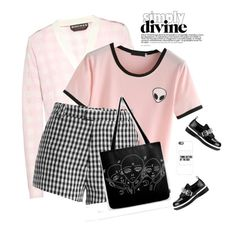 """""""Simply Divine"""" by nightowl59 ❤ liked on Polyvore featuring Rochas, McQ by Alexander McQueen, Sandy Liang and Casetify"""