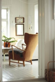 Living room - Vintage armchair - By Fryd