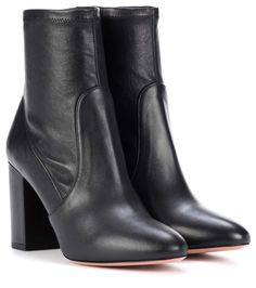 MISTRESS GAIA – PLATFORM KNEE HIGH LEATHER BOOTS – Female