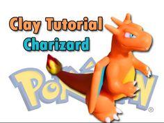 Charizard made of Polymer clay / Porcelana fria / Plastilina Tutorial - YouTube