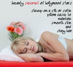 Beauty pillowcase: works wonders for a fresh, wrinkle-free skin in the morning and for shiny bed-hair!