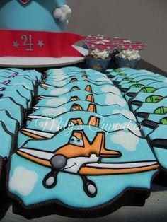 Planes Disney Dusty cookies