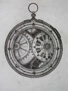 Steampunk Compass Tattoo Designs