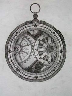 Steampunk Compass Tattoo Designs