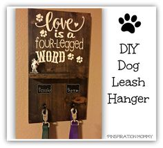 DIY+Dog+Leash+Hanger