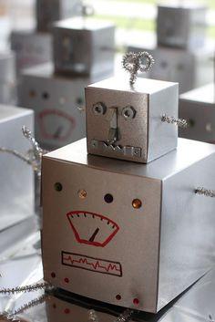 Robot gift box