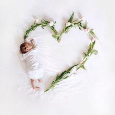 Such a cute baby photo!