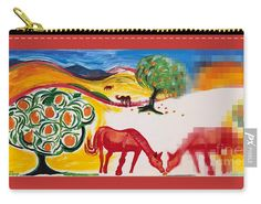 A great little mini-carry all or coin purse. Larger sizes available with pull-down menu. The art is from a painting I did for the SFMuni Art Contest Great for Valentine's Day or a fun gift for horse lovers. Valentine Day Gifts, Valentines, Gifts For Horse Lovers, Red Art, Drawing Tools, Basic Colors, Color Show, My Images, Colorful Backgrounds