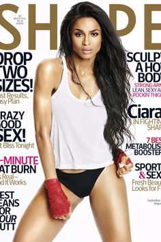 Ciara Tells Shape Magazine How She Lost 60 Pounds in 4 Months After Giving Birth