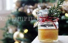 a little glass box: Christmas present DIY {lip scrub}