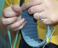 Volunteer Volunteer  UK Hand Knitting is always looking for volunteers to help out at shows or with one of our projects.