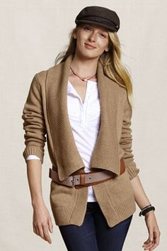 Gots to have a multipurpose sweater. Can wear it belted or unbelted, with jeans, a skirt, or a tee. $39.99