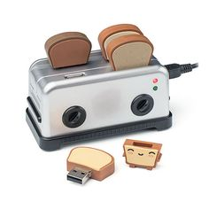 Smoko Toaster USB Hub with SD Card Reader