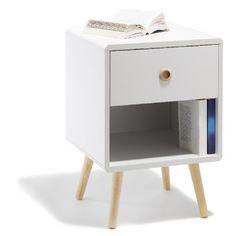 table de chevet ida 1 tiroir table de chevet chambre bureau mobilier - Table De Chevet Tiroir