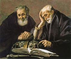 Hendrick ter Brugghen - Democritus and Heraclitus
