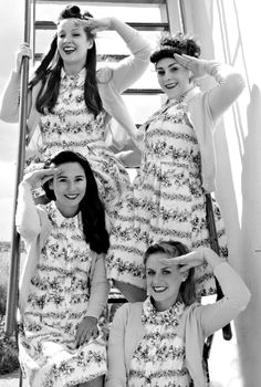 North East of England based vintage act are a 4 piece vocal ensemble who specialise in music from the wartime era or the 30s and 40s. They perform with backing tracks as standard and take their many musical cues from acts such as The Andrews Sisters,  Glenn Miller, Peggy Lee and Vera Lynn.
