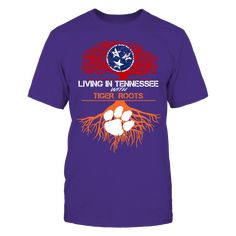 Clemson Tigers - Living Roots Tennessee