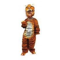 Hier kommt der König des Dschungels - nehmt Euch in acht! Tolles Kostüm aus Textil mit ganz weicher Oberfläche in detailliert bunten Mustern! ca. 78 x 13 x 95 cm