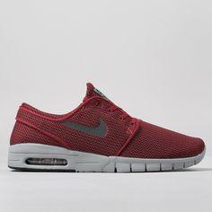 Nike SB Stefan Janoski Max Shoes - Team Red/Black