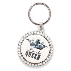 I'm The Queen Keyring from femailcreations.com. I NEED this!