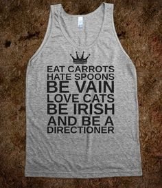 """""""BE A DIRECTIONER"""" - One Direction Infection! - Skreened T-shirts, Organic Shirts, Hoodies, Kids Tees, Baby One-Pieces and Tote Bags"""
