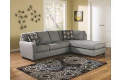 Shop for Zella Charcoal Sectional with Left Facing Chaise. Get free delivery On EVERYTHING* Overstock - Your Online Furniture Shop! Charcoal Sectional, Sectional Sofa, Sleeper Sofas, Living Room Furniture, Home Furniture, Rustic Furniture, Grey Furniture, Antique Furniture, Ashley Home