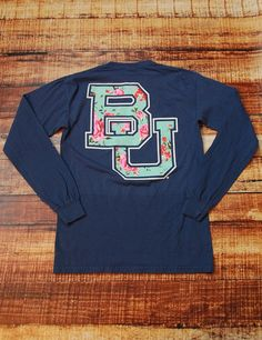 How awesome is this new Baylor University t-shirt? Show your love for the Bears in this new Comfort Color top!