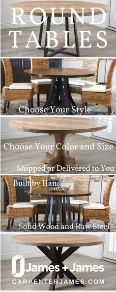 Raw steel furniture dining rooms Ideas for 2019 Painted Furniture Desk, Rustic Solid Wood Dining Table, Modern Scandinavian Furniture, Metal Building Homes, Classic Furniture Design, Pedestal Dining Table, Raw Steel Furniture, Rustic Furniture Diy, Patio Furniture Layout