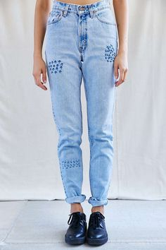 Urban Renewal Vintage Boro Stitch Jean