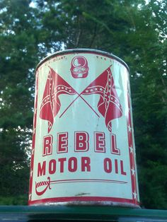 Rebel Motor Oil Can Alabama