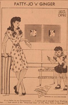 """Slate: """"Patty-Jo & Ginger"""", one of the first positive and political comics featuring African-Americans"""