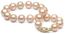 Pink Freshwater Pearl Bracelet, 7.0-8.0mm  | Pure Pearls #bracelet #women #covetme #purepearls #freshwater