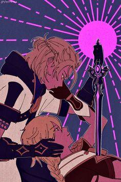 Video Game Art, Video Games, Albedo, Ship Art, Good Night, Art Reference, Memes, Anime Art, Original Artwork