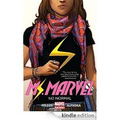 Book Review: Ms Marvel Vol 1: No Normal - a good reboot with well written story that happens to support diverse books (and content appropriate for kids.)