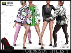 Fashions by Jomsims http://www.thesimsresource.com/downloads/1195950