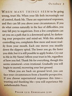 devotional. From Jesus Calling. By Sarah Young. Want to learn to trust His sovereignty.  This is the one