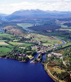 Fort Augustus at the foot of Loch Ness