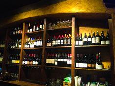 One 19 North Wine and Tapas Wine rack
