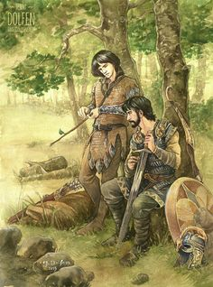 Two Captains by Jenny Dolfen--Beleg and Turin