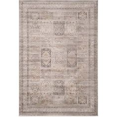Safavieh Vintage Mouse Traditional Area Rug - 6'7 inch x 9'2 inch, Brown