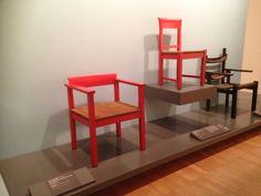 Side Chair - Erich DIECKMANN, 1926 designed, 1927-28, manufactured, wood, rush Bau Und Wohnungskunst, Weimer