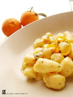 gnocchi di ricotta all'arancia