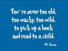You're never too old, too wacky, to wild, to pick up a book and read to a child! https://f6988.myubam.com/shop