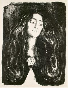 Edvard Munch - The Brooch