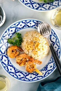 Garlicky and buttery, this simple Japanese Garlic Fried Rice topped with garlic chips is a dish I have cooked many times over the years as one of my go-to rice dishes! This fried rice recipe matches so well with a delicious side like succulent grilled shrimp. #friedrice #garlicfriedrice | Easy Japanese Recipes at JustOneCookbook.com Easy Japanese Recipes, Asian Recipes, Ethnic Recipes, Japanese Food, Rice Dishes, Food Dishes, Rice Bowls, Garlic Chips, Rice Noodle Recipes