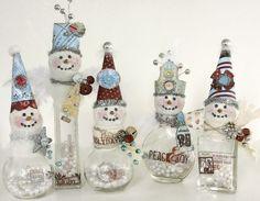 snow people by Linda Albrecht