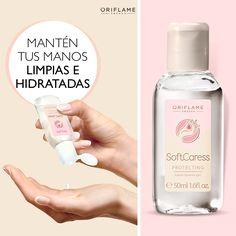 Un gel para limpiar tus manos y protegerlas de bacterias. Las dejará suaves y frescas, pues su fórmula está enriquecida con aceite de macadamia