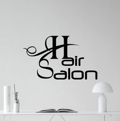 Hey, I found this really awesome Etsy listing at https://www.etsy.com/listing/269401093/hair-salon-wall-decal-stylist-barbershop